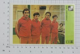 "Table Tennis Club ""Vojvodina"" From Novi Sad,Serbia,Yugoslavia,1981,Vintage Photo Postcard/SPORT1-36 - Table Tennis"