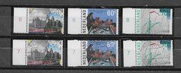 Nederland - 1985 - Yvert 1246/ 1248 - Postfris En Gestempeld - (** + 0 ) Amsterdam. - Periodo 1980 - ... (Beatrix)