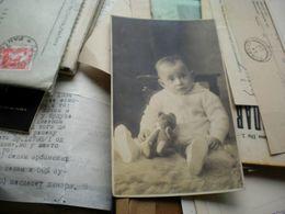 Teddy Bear Boy Children Nis 1930 - Jeux Et Jouets