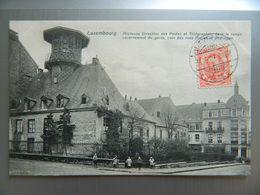 LUXEMBOURG              ANCIENNE DIRECTION DES POSTES ET TELEGRAPHES              COIN DES RUES PIQUET ET ALDRINGER - Belgium