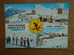 Orcières - Merlette , Grande Station De Sports D'hiver , Multi-vues - Orcieres