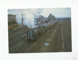 A TOURNAI (63) AU TEMPS DE LA VAPEUR LA 1204 UNE ATLANTIC SUR UN TRAIN LILLE- BRUXELLES MAI 1962 - Tournai