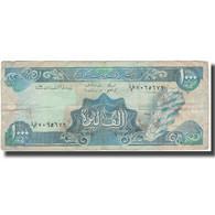 Billet, Lebanon, 1000 Livres, KM:69a, B - Liban
