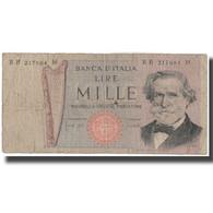 Billet, Italie, 1000 Lire, KM:101a, B - 1000 Lire