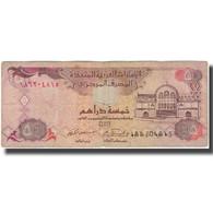 Billet, United Arab Emirates, 5 Dirhams, 2001, KM:19b, B - United Arab Emirates