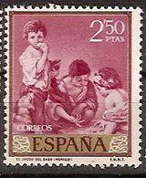 ESPAÑA SEGUNDO CENTENARIO USADO Nº 1277 (0) 2,5 P BURDEOS - 1931-Oggi: 2. Rep. - ... Juan Carlos I