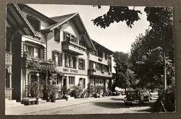 Aeschi Hotel Seeblick/ Oldtimer Auto/ Photo Gyger Adelboden - BE Berne