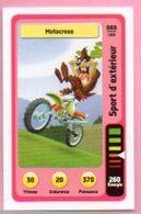 IM492 : Carte Looney Tunes Auchan 2014 / N°088 Sports D'extérieur Motocross - Trading Cards
