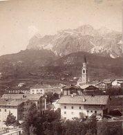 AK-1201/ Cortina Mit Tofano Stereofoto V Alois Beer ~1900 - Fotos Estereoscópicas