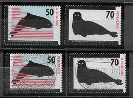 Nederland - 1985 - Yvert 1249/ 1250 - ( ** En 0 ) Postfris En Gestempeld - Beschermde Dieren. . - Periodo 1980 - ... (Beatrix)