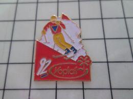 316b Pin's Pins / Rare & Belle Qualité !!! THEME : JEUX OLYMPIQUES / ALBERTVILLE 1992 SLALOM YOPLAIT Par FB - Olympic Games