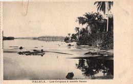 CPA CONGO BELGE - MALELA - LES CRIQUES A MAREE BASES - NEUVE - NON CIRCULEE. - Congo Belge - Autres