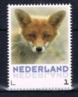 L 497 ++ NEDERLAND NETHERLANDS 2013 VOS FOX FUCHS RENARD MNH ** - Unused Stamps