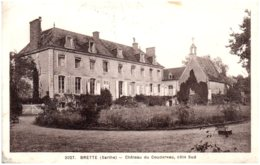 72 BRETTE - Chateau Du Coudereau, Coté Sud - Autres Communes