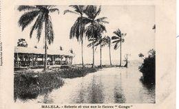CPA CONGO BELGE - MALELA - SCIERIE ET VUE SUR LE FLEUVE CONGO - NEUVE - NON CIRCULEE. - Congo Belge - Autres