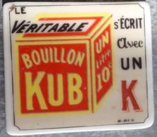 Fève Publicité Bouillon Cube - Santons/Fèves