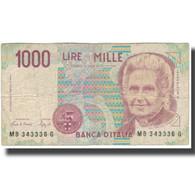 Billet, Italie, 1000 Lire, KM:114a, B - 1000 Lire