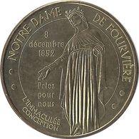 2012 MDP267 - LYON - Notre Dame De Fourvière 2 (L'Immaculée Conception) / MONNAIE DE PARIS - Monnaie De Paris