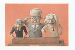 Cartolina Satira Firmata G. GABELLINI - Cartoonist De L'annè Montreal 1980 - Satiriques
