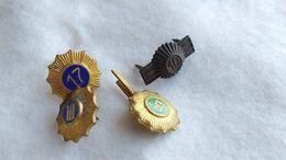 Argentina Argentine Army Armee Gendarmerie Badge Insigne SET OF 4 #14 - Armée De Terre