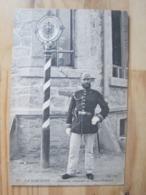 La Schlucht - Gendarme Allemand Au Poteau Frontière - France