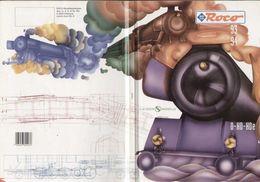Catalogue ROCO 1993/94 Gesamtkataolg 0 HO HOe Sachsen-Modelle - Libros Y Revistas
