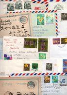JAPON LOT DE LETTRES DIVERSES - POIDS 270 GRAMMES - Francobolli
