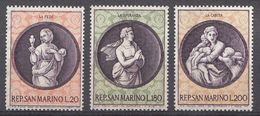 Saint-Marin 1969  Mi.nr.: 939-941 Weihnachten   MNH / POSTFRIS / NEUF SANS CHARNIERE - Neufs