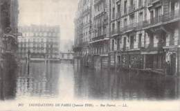 75 - PARIS 12 ème - INONDATIONS De JANVIER 1910 :  Rue Parrot ( Hotel MODERN Et Hotel ARIANA ) - CPA - Seine - De Overstroming Van 1910