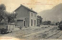 1379- TARASCON -la Gare Du Tramway Départemental -ed. Labouche - France