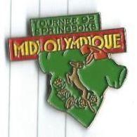 Rugby : Journal Midi Olympique Tournée Des Springboxs Afrique Du Sud 1992 - Rugby