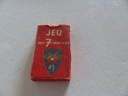 B-8 , Paquet De Carte De Jeu Des 7 Familles , TOISON D'OR, Complet - Cartes à Jouer