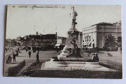 Canns - Le Monument D'edouar VII - 1914 - Cannes