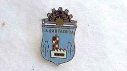 Argentina Argentine  La Cantabrica Industrial Zone Publicity Badge Insigne #14 - Pubblicitari