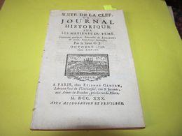 LA CORSE HISTORIQUE - LES REBELLES DE L'ISLE DE CORSE - LA BASTIE / BASTIA - // - LA PÊCHE DE LA BALEINE - 1730. - Zeitungen