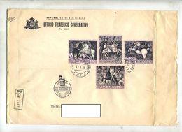 Lettre  Recommandée Cachet  Fdc 1968 Lucello - FDC