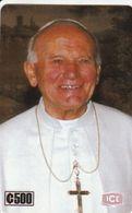 Costa Rica - El Papa Juan Pablo II - Costa Rica