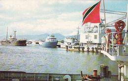 Antilles, Trinidad, Port Of Spain, Main Harbour, Ships, Unused - Trinidad