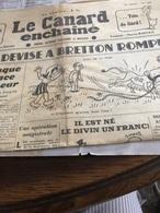 Le Canard Enchaîne Du 28 Janvier 1948 - Periódicos