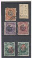 PEROU 1882 YT N° 42-43-44-46 Oblitéré Et Neuf * (*) - Peru