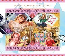 Salomon 2016, Cinema, Monroe, Art, Cards, 4val In BF - Other