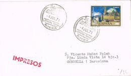 36872. Carta Impresos ALMERIA 1971. Semana NAVAL - 1931-Aujourd'hui: II. République - ....Juan Carlos I