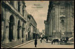 MARSALA (TP) CORSO GARIBALDI 1918 - Marsala