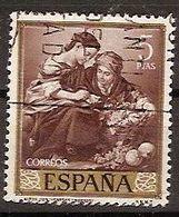 ESPAÑA SEGUNDO CENTENARIO SERIES Nº 1279 (0) 5P CASTAÑO MURILLO - 1931-Oggi: 2. Rep. - ... Juan Carlos I