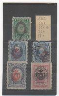 PEROU 1882 YT N° 54-55-56-58 Oblitéré Et Neuf * - Peru