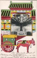 CHINA CHINE  Interior Of Sleeping Car South Manchuria Railway   ...... ( South Manchuria Railway Company DAIREN ) - Chine