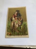 Homme Et Femme De Pont-Labbe     Publicité Pour Un Magasin De Confection - Kaufmanns- Und Zigarettenbilder
