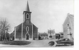 MARNEFFE   L ' église  Carte Photo. - Burdinne