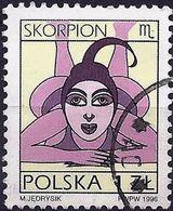 Poland 1996 - Mi 3598x - YT 3375 ( Zodiac Signs : Scorpio ) Standard Paper - 1944-.... République