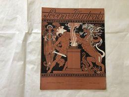 SCENA ILLUSTRATA EZIO ANICHINI CHIMERA VITTORIA ALATA GUERRIERO N.DOPPIO 1918. - Books, Magazines, Comics